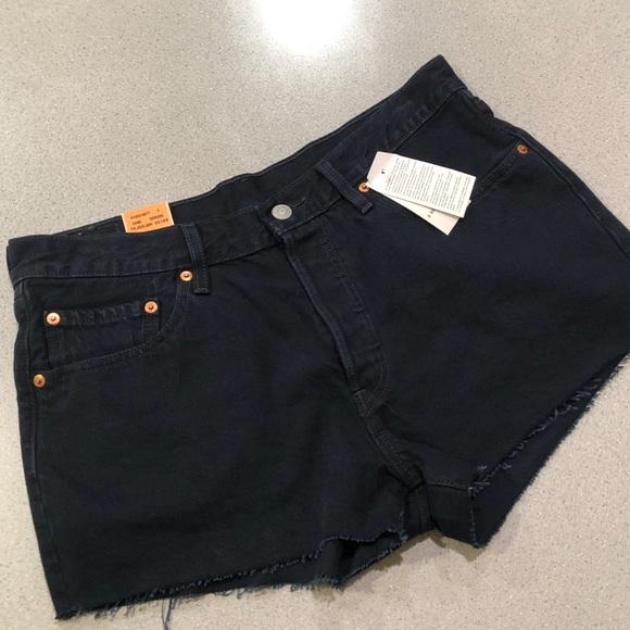 Levi's Pants - Levi's 501 Original Fit Button Fly Cut-off shorts